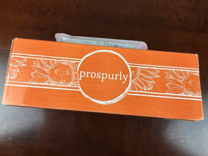 prospurly september 2015 box