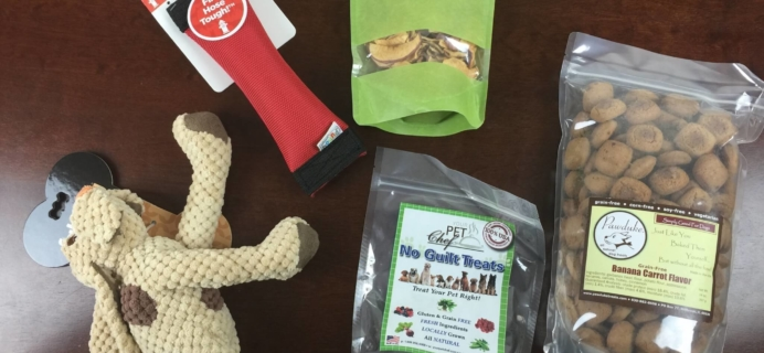 PupJoy Dog Subscription Box Review + Coupon – August 2015