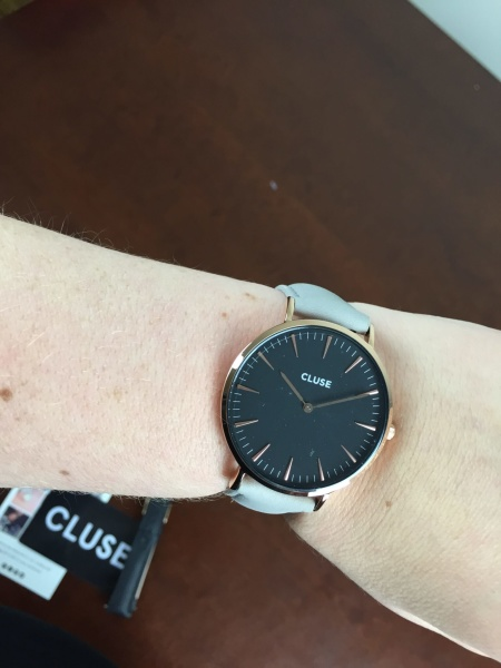rachel zoe box of style fall september 2015 cluse watch