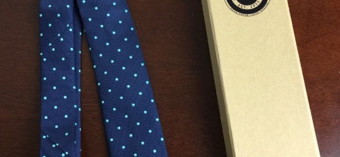 Urban Dapper Club Tie Subscription Box Review – September 2015