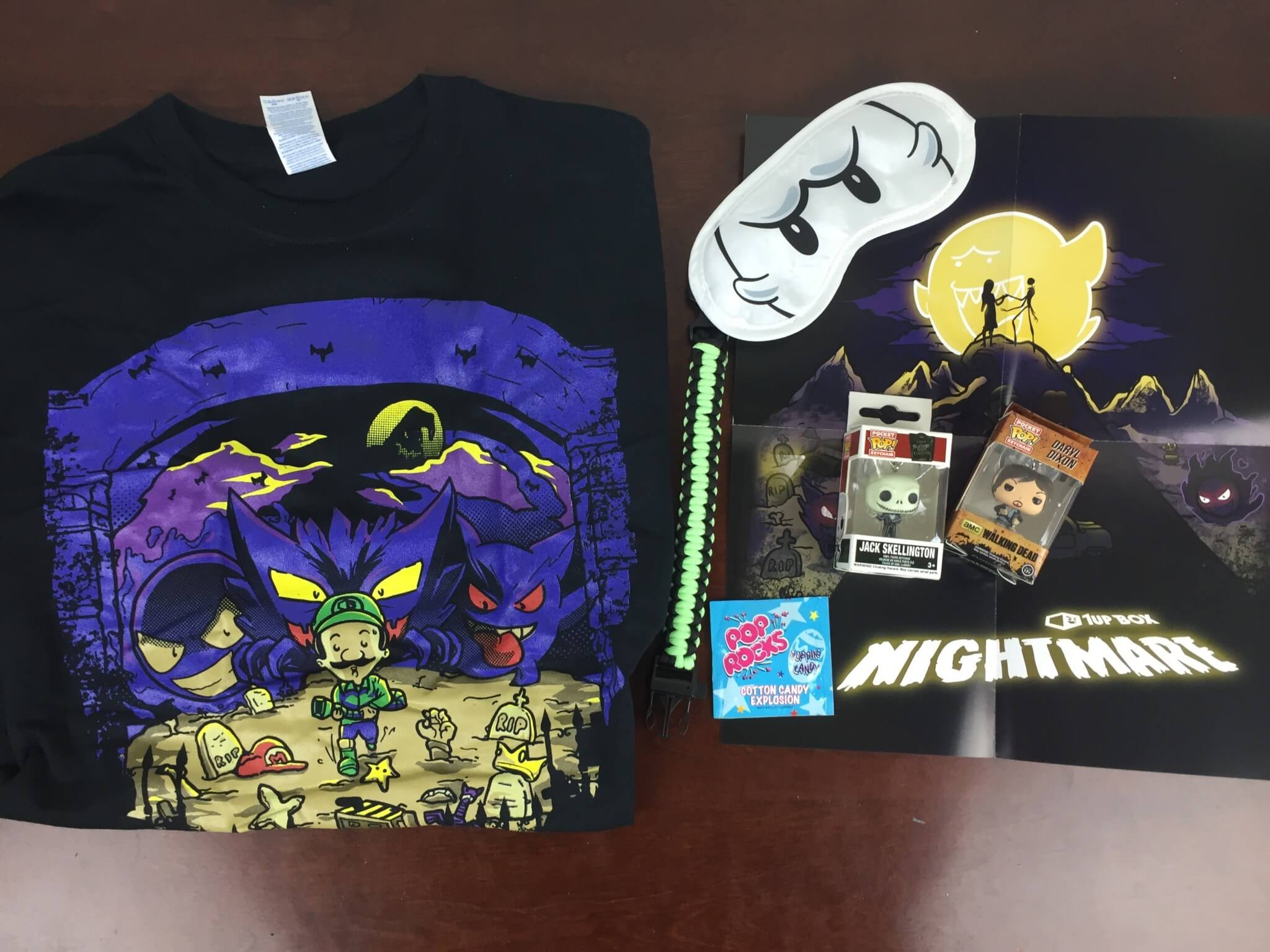 1Up Box October 2015 Subscription Box Review + Coupon + November 2015 Spoilers