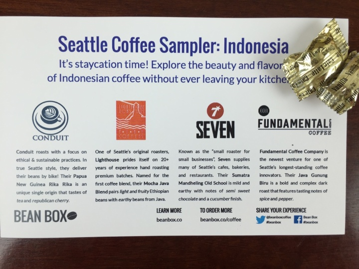 bean box seattle coffee sampler indonesia IMG_8903