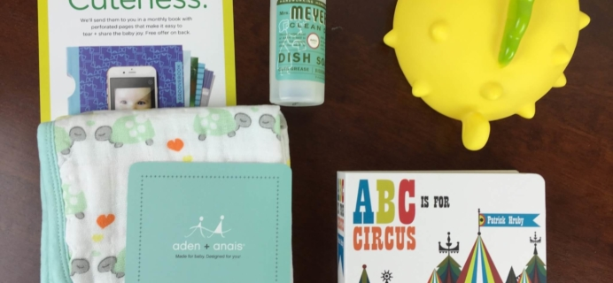 October 2015 Citrus Lane Baby Subscription Box Review & Half Off Coupon