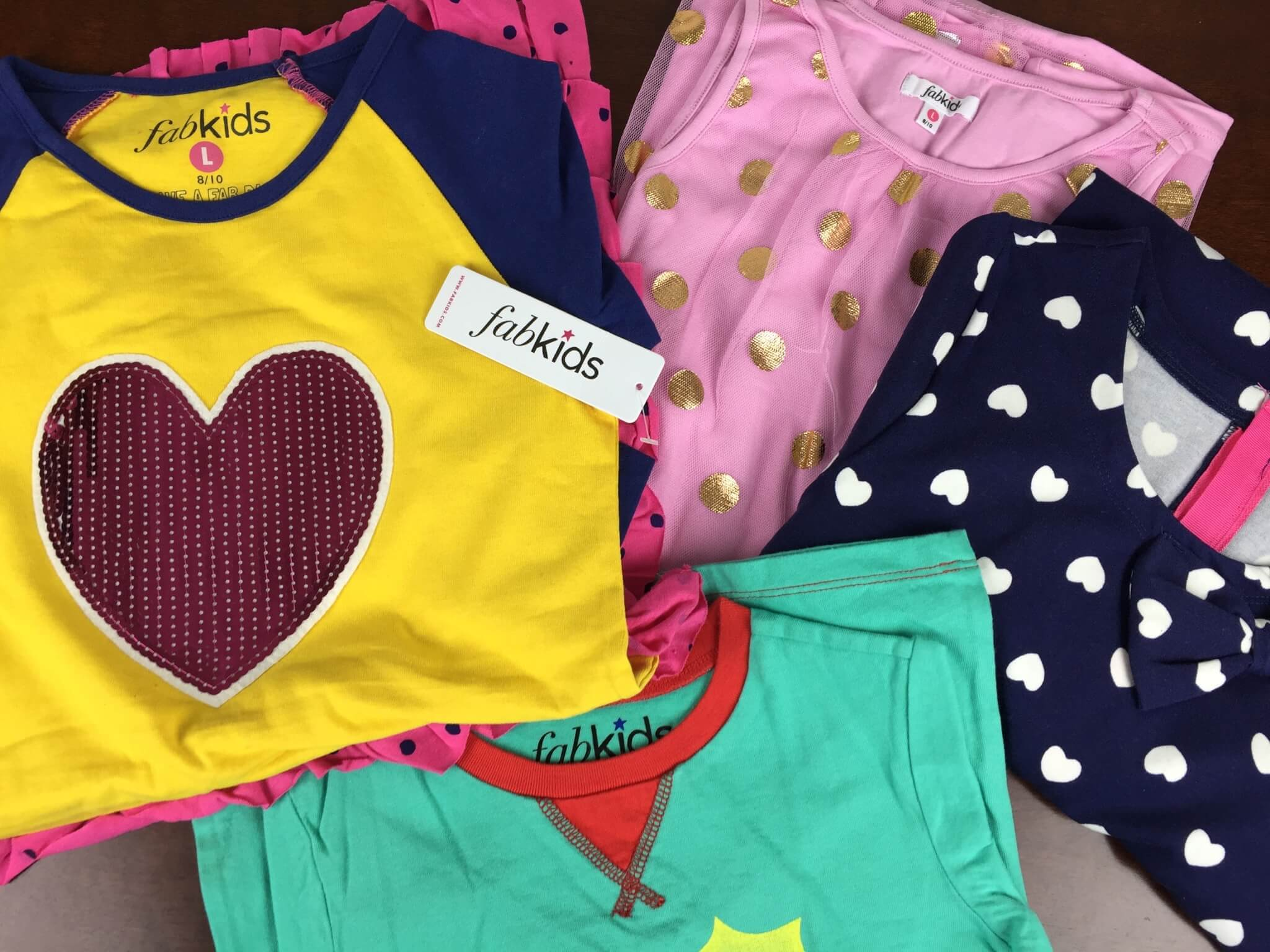 October 2015 Fabkids Subscription Review & Half Off Coupon