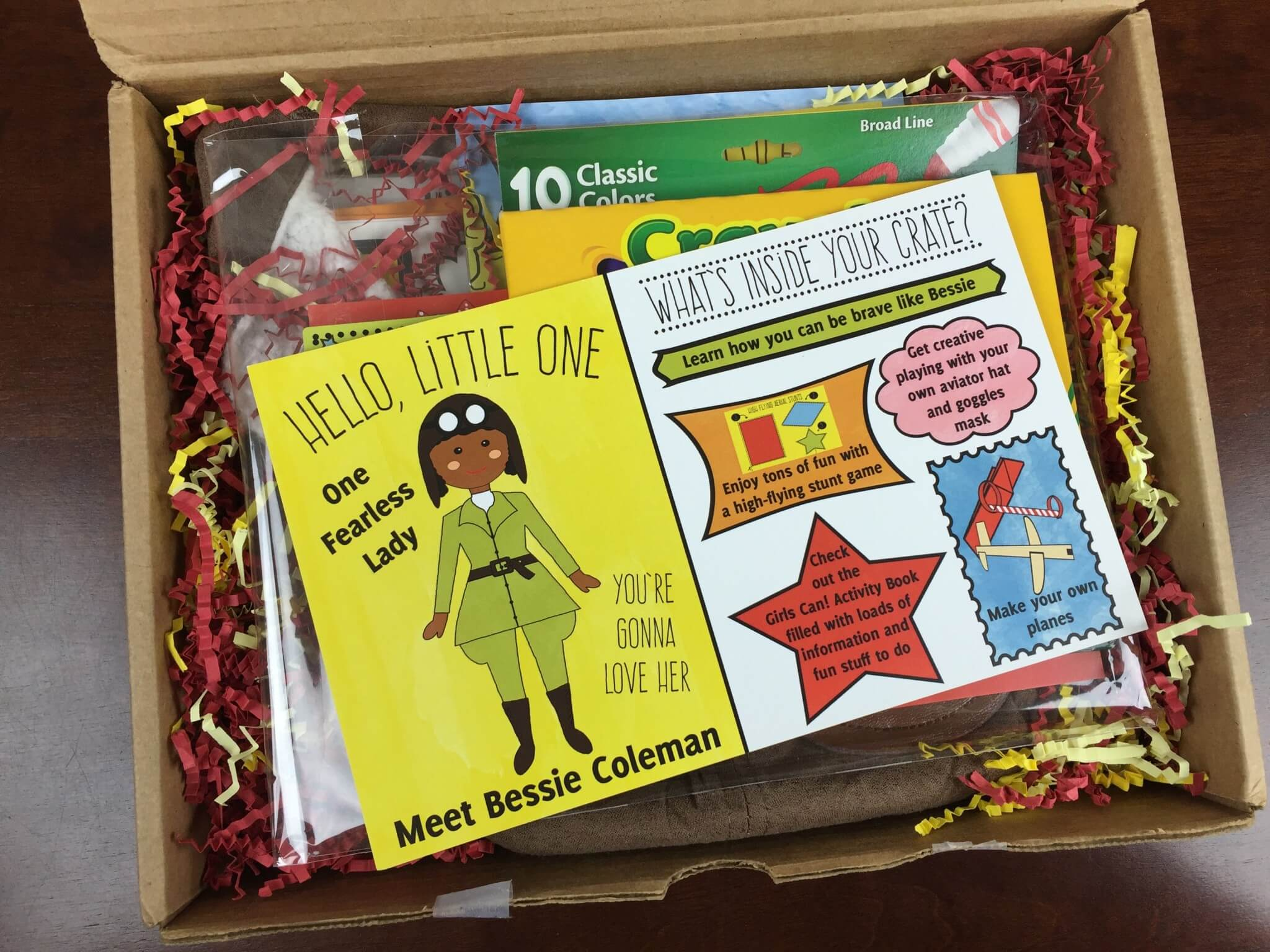 Girls Can! Crate Subscription Box Review & Coupon – October 2015