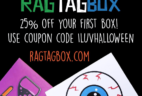 Rag Tag Box October Spoilers + Coupon Code