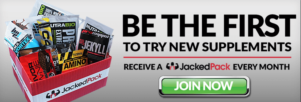 Jacked Pack Coupon: Get 13 Bonus Samples With Your First Box!