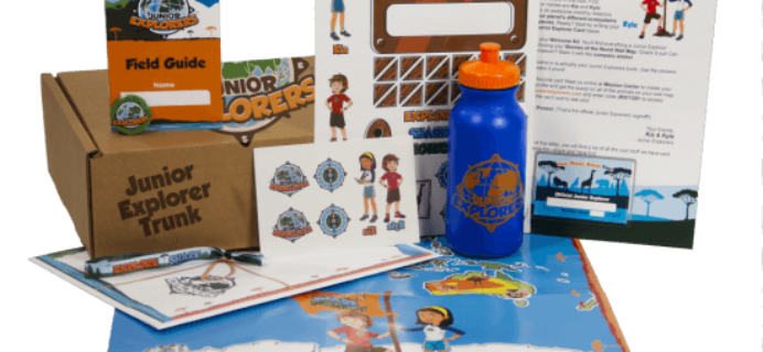 Junior Explorers First Box Free Coupon Code