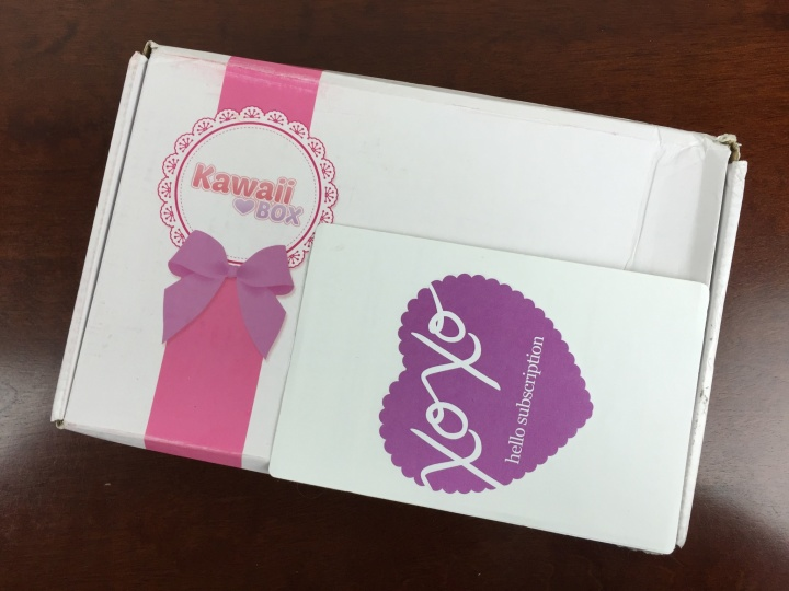 kawaii box september 2015 box