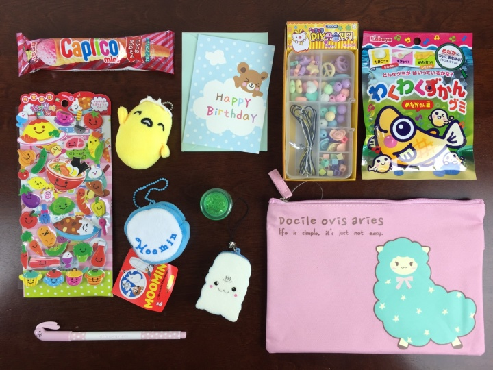 kawaii box september 2015 review