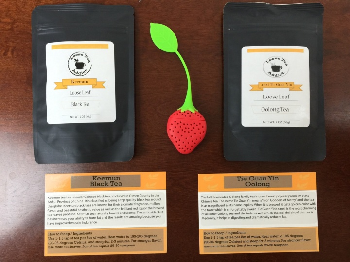 loose tea addict september 2015 review