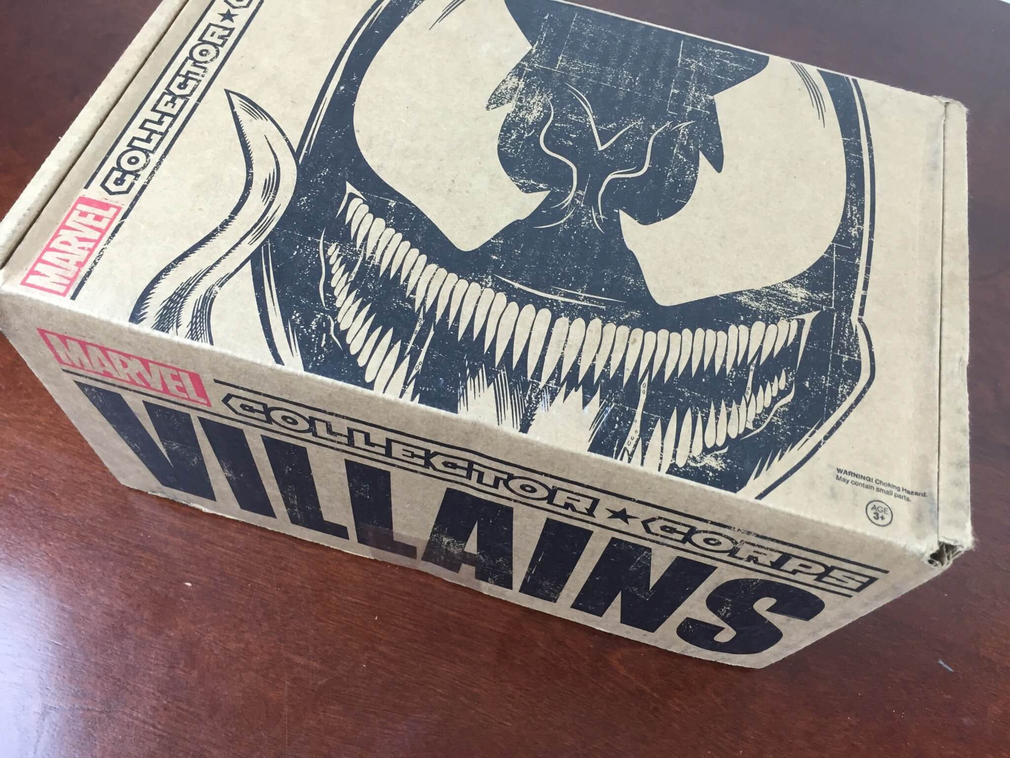 Marvel Collector Corps October 2015 Review: Villains