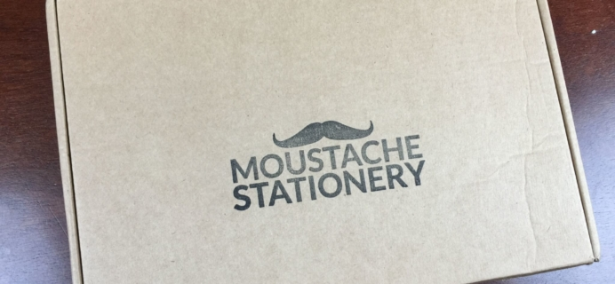 Moustache Stationery Subscription Box Review & Coupon