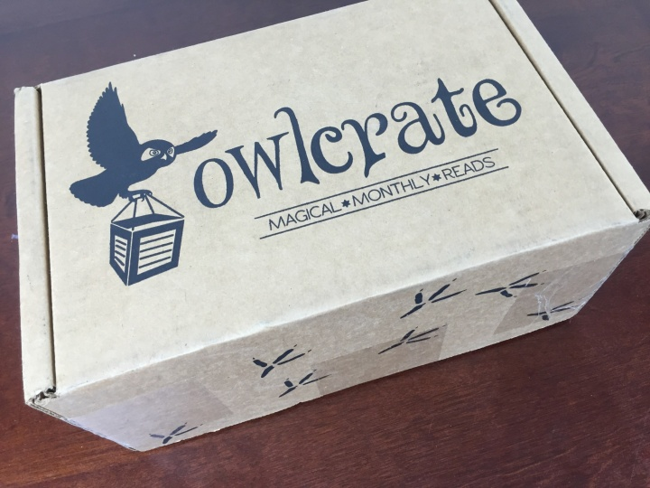owlcrate october 2015 box