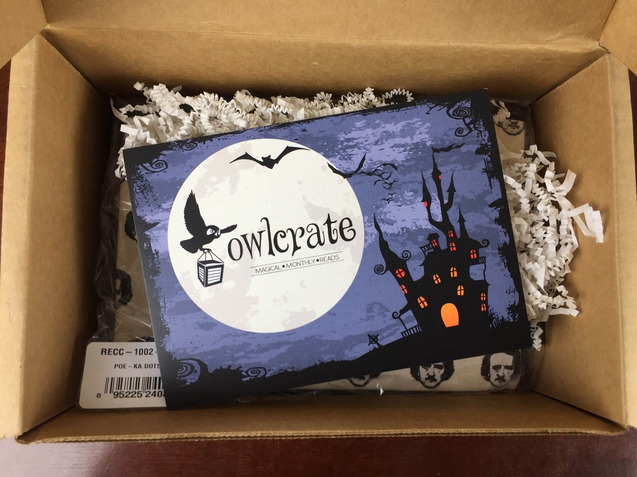owlcrate october 2015 unboxing