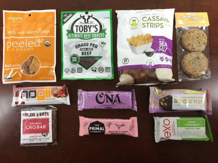 paleo life box october 2015 review