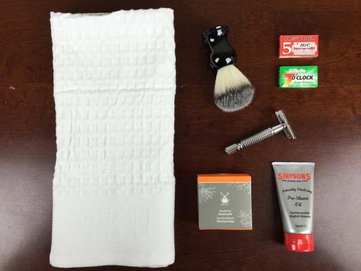 personal barber welcome box review