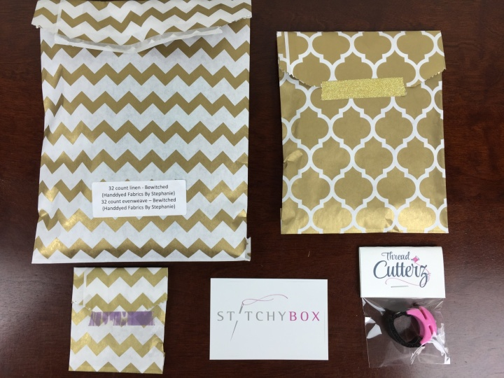 stitchy box september october 2015 unboxing