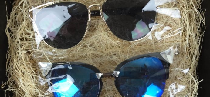 Sun of a Chic Sunglasses Subscription Box Review + Half Off Coupon Code – October 2015