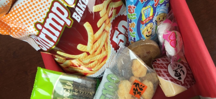 Japan Yum November 2015 Subscription Box Review + Coupons