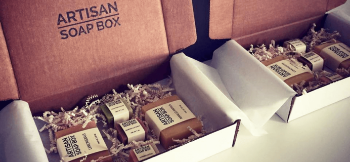 Artisan Soap Box Cyber Monday Coupon: $5 Off First Box!