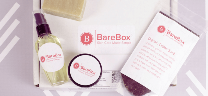 BareBox Cyber Monday Deal: 50% Off First Box!