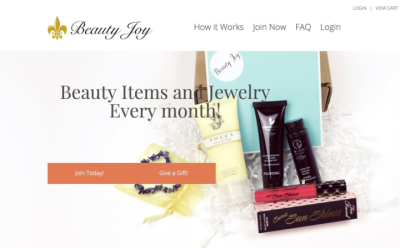 15% Off Beauty Joy Box Cyber Monday Coupon Code