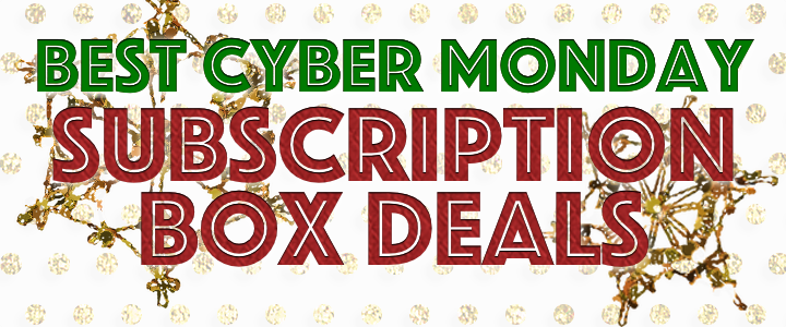 best cyber monday subscription box deals