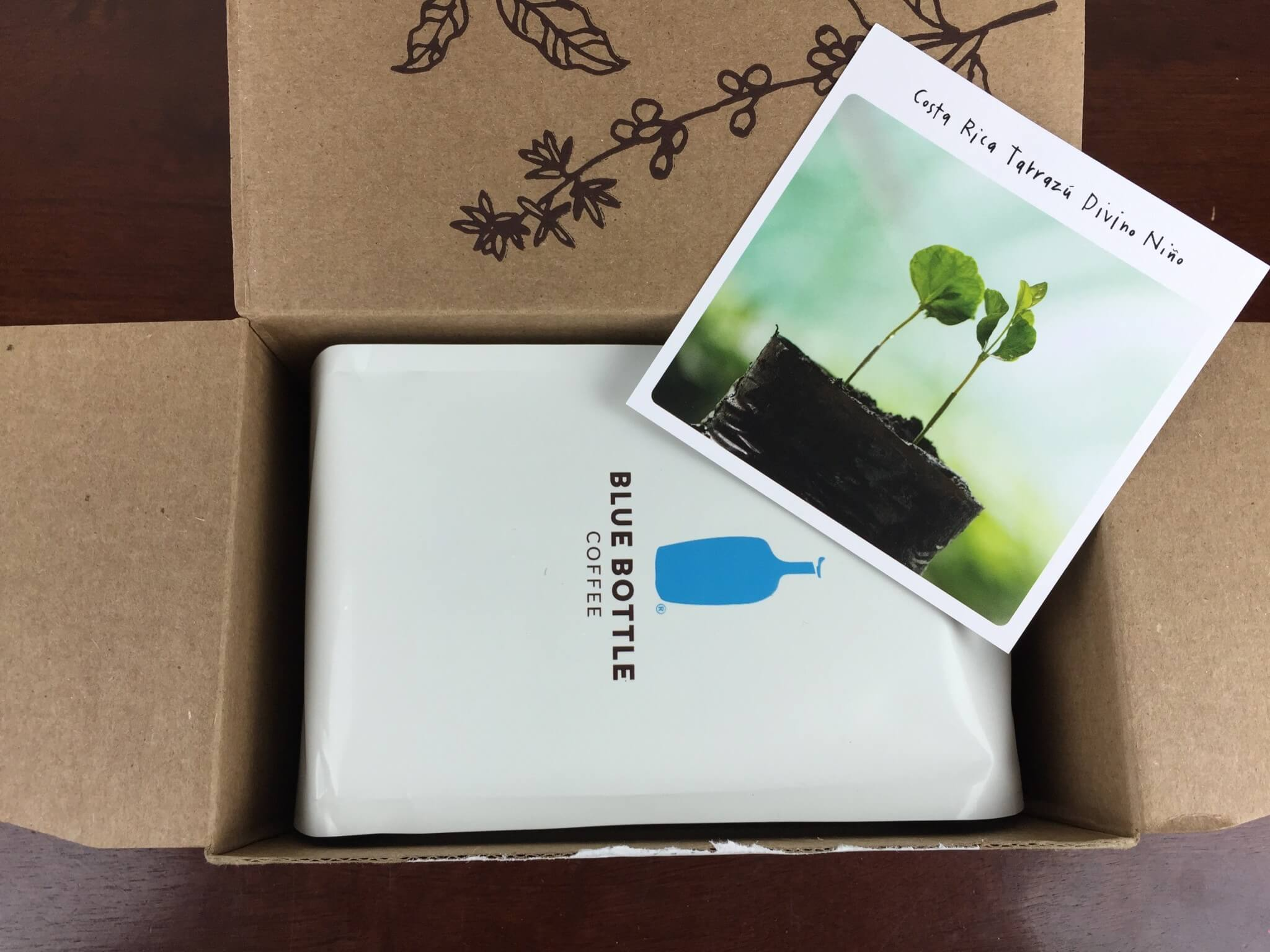 Blue Bottle Coffee November 2015 Subscription Box Review