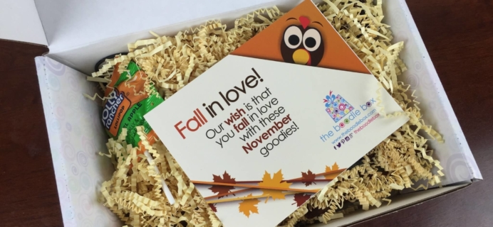 Boodle Box November 2015 Girls Subscription Box Review