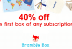Bramble Box 40% Off First Box Coupon – Last Day + Christmas Delivery!