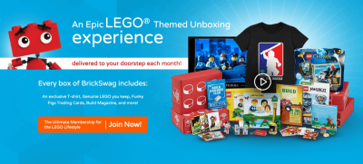 Brick Swag by Brick Builders Club Cyber Monday Coupon – 21% Off Subscriptions!