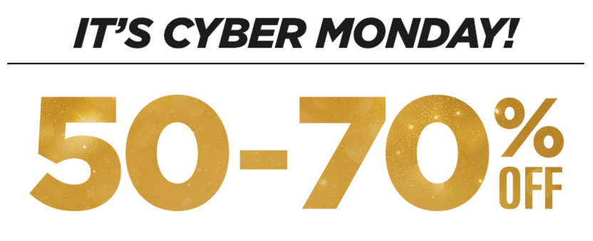 Fabletics Cyber Monday Sale 50 70 Off Gold Items
