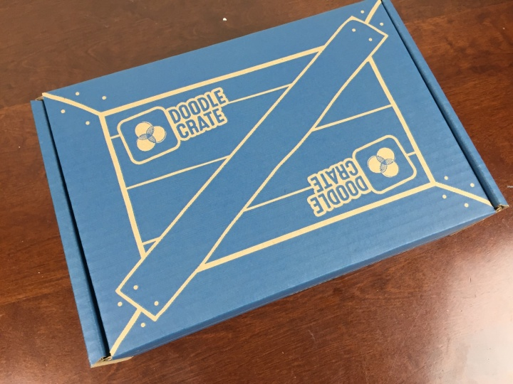 Doodle Crate October 2015 Subscription Box Review Coupon Wooden
