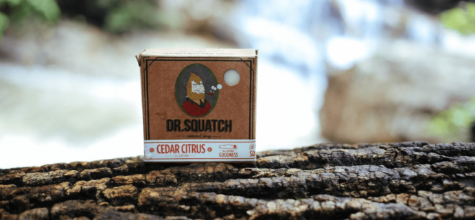 Dr. Squatch Soap Subscription Box Cyber Monday Deal: 10% Off!