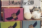 Fandom of the Month Cyber Monday Deal: 3 Months $30!