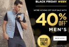 Black Friday Week Deal – 40% Off FL2 for Men from Fabletics – Today Only!