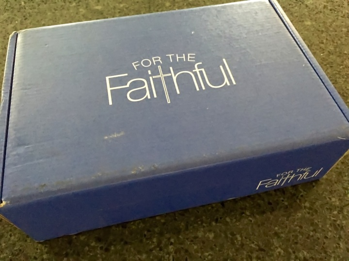 for the faithful october 2015 box