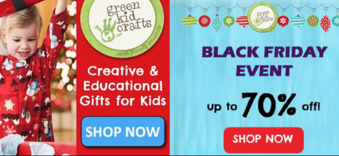 Green Kid Crafts Black Friday Sales – 70% Off First Month!