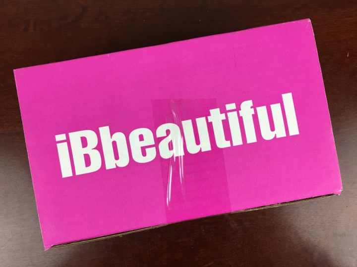 ibbeautiful november 2015 box