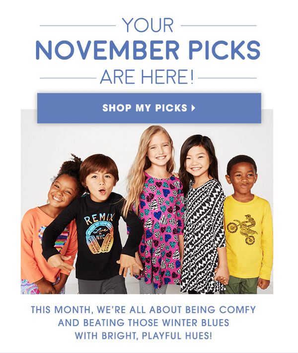 November 2015 FabKids Collection + First Outfit $9.95!
