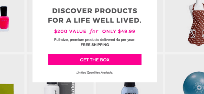 FabFitFun Box Cyber Monday Deal: $10 Off First Month!