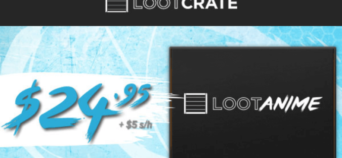 Loot Anime by Loot Crate Launches next week!