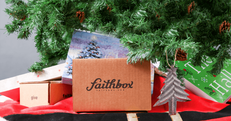 Faithbox Cyber Monday Coupon: HALF off First Month!