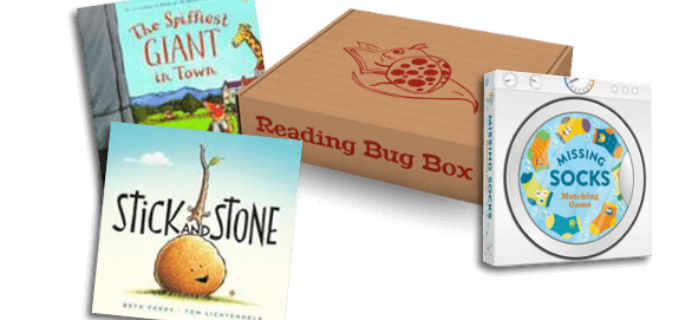 Reading Bug Box Black Friday Deal – 50% Off First Box!