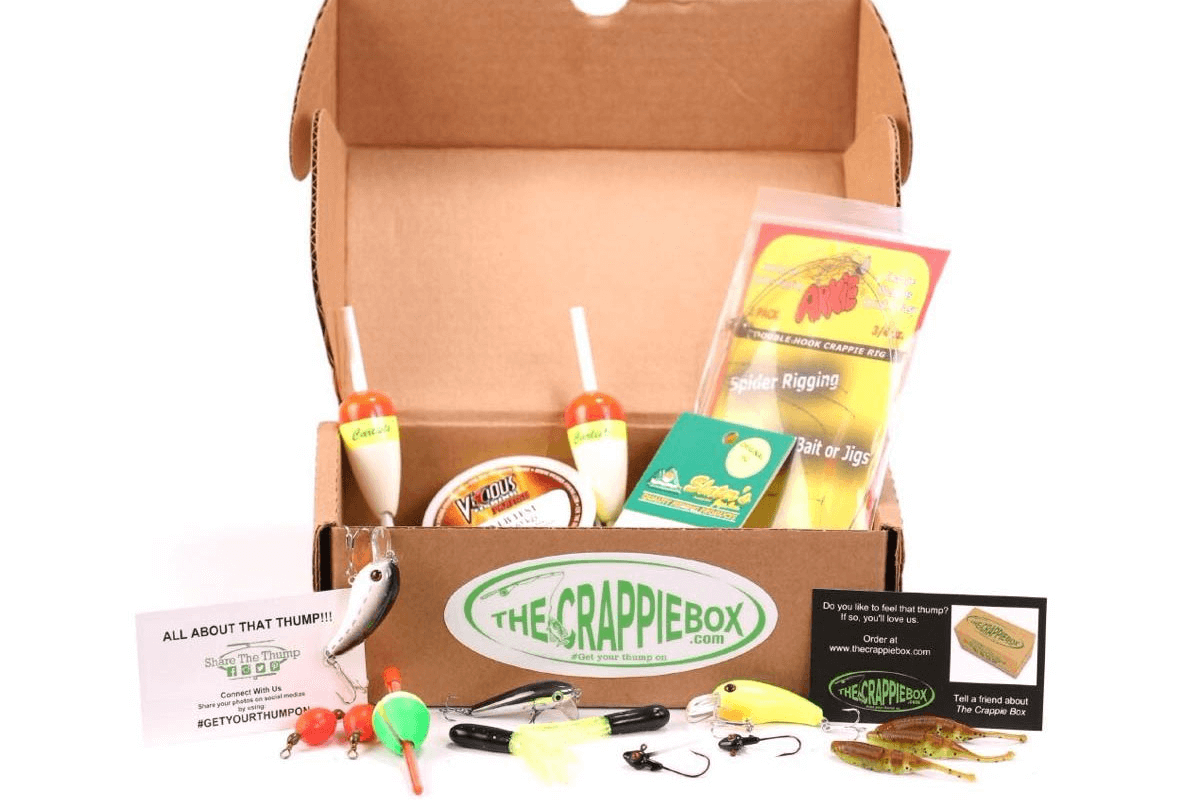 The crappie box hello subscription for Fishing box subscription