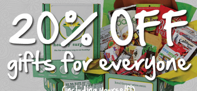 Healthy Surprise Black Friday Coupon Code – Save 20%!