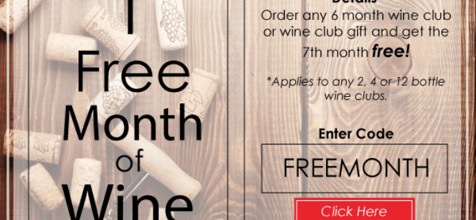 PLONK Wine Club Deal – Free Month With Subscription!