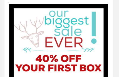 The Austin Bat Box Cyber Monday Deal: 40% Off First Month!