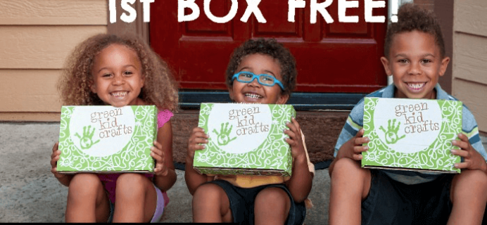 Green Kid Crafts Cyber Monday Deal: First Month Free!